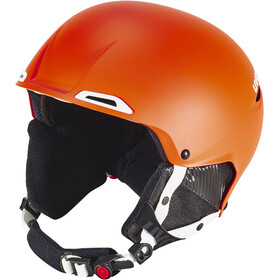UVEX Jakk+ Helmet Orange-White Mat